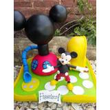 Adorno Para Torta La Casa De Mickey Mouse,mickey,mini,orejas