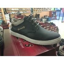 Zapatos Casuales De Hombre 100% Cuero