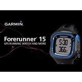 Reloj Garmin Forerunner 15 Gps Running Fr15 Fitness Caminata