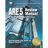 Book : Are 5 Review Manual For The Architect Registration...