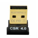 Mini Adaptador Bluetooth Usb 4.0 Csr Conector Pc Notebook