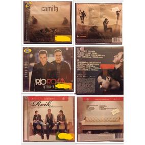 Paquete De 3 Discos Camila Reik Río Roma Originales Nuevos