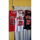 Camiseta De Basquet Bulls (nike)