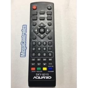 Kit 12x Controle Para Conversor Aquário Dtv-5000/6000/7000
