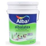 4 Unidades De Albalatex Pintura Latex Interior Mate X 20lts