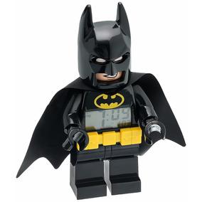 Lego Batman Reloj Despertador Dc Comics Buro Luz Niño