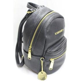 Bolsa Mochila Steve Madden Backpack Original Nueva Negro