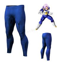 Calça Compressão Legging Dragon Ball Vegeta Bodybuilding Mma