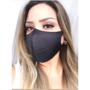 Kit 3 Máscaras Tecido 3 Camadas Leve E Corfortável Lavável