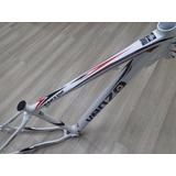 Quadro Bicicleta Alum. 29 Venzo Raptor T-17 Branco 050048