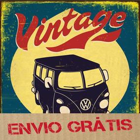 Vetores Estampa Vintage Retrô Poster Antigo Ilustração Corel