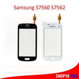 Tela Touch Vidro Samsung Galaxy Trend Gt S7560 S7562