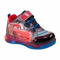 Tenis Niño Cars Avengers Iron M Luz Bota 12-16 Envio Gratis
