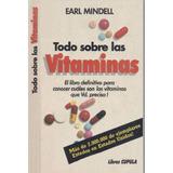 Todo Sobre Las Vitaminas Libro Pdf