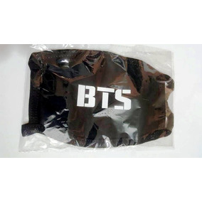 Cubrebocas Bts Kpop Coreano Negro Blanco