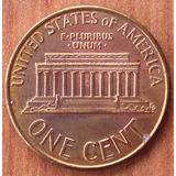 Moneda Usa One Cent Error W I D E - A M 1998 Very Rare
