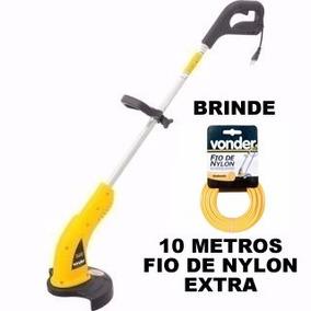 Aparador De Grama Elétrico 1000 W Vonder Frete Grátis