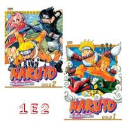 Naruto Gold 1 E 2! Mangá Panini! Novo E Lacrado! Raro!