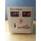 Regulador Protector Elevador De Voltaje Amplio Rango, Avtek