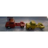 Juguete Antiguo , Camionetas Fricción Ford Plastico