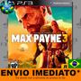 Max Payne 3 Jogo Ps3 Legendas Em Português Envio Agora