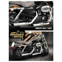 Ponteira Harley 1200 Sport Até 2013 Cano De Descarga