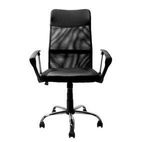 Cadeira Presidente Giratória Preta- Fortt -ut-c161