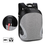 Mochila Antirrobo Impermeable Usb Para Power Bank