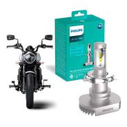 1 Unidade Lâmpada Moto Philips Ultinon Led H4 6200k +160%