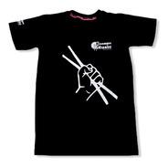 Camisa Baterista Sienmpre Music - Bateria - Baquetas
