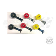 Pedal Acelerador Roller Fusca Amarelo/cromado - Restaurakar