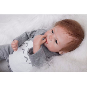 Boneco Bebê Reborn Felipe Siliconada
