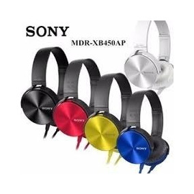 Kit 10 Fone De Ouvido Sony Mdr-xb450ap Headphone Extra Bass