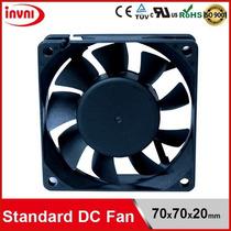 Micro Ventilador 70x70x20mm Fan Cooler 12v 70mm Pwm 4 Fios