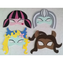 Antifaces Monster High Souvenirs Pack X 10 Unidades