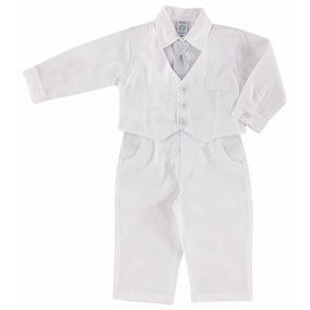Roupa Para Batizado De Bebê Menino- 1107