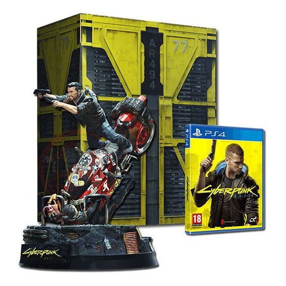 Cyberpunk 2077 Collector's Edition Ps4 Juego Fisico Original
