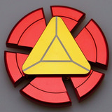 Spinner Iron Man Metalico Anti-estres