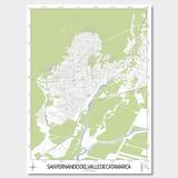 Mapa Ciudad De San Fernando Del Valle De Catamarca 61cmx45cm