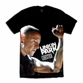 Camiseta Linkin Park Chester Bennington Rock Show Bandas