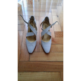 Zapatos Blancos Para Dama--impecables!!!