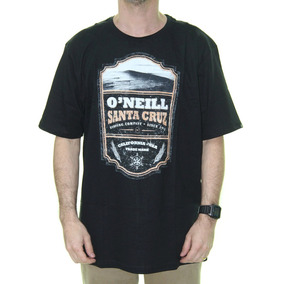 d8b3a13463 Camiseta Masculina Oneill Scotch Estampada Manga Curta - Pre