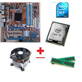 Kit Placa Mãe 1156+proc. I5 3.20ghz+4gb Ram+cooler! Oferta!!
