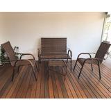 Jogo Cadeira Vime,varanda,área,piscina,sala De Estar
