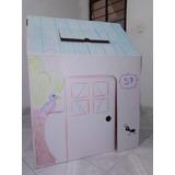 Casita De Juguete Para Niños (de Cartón Para Decorar)