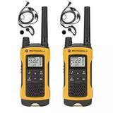 Par Radio Comunicador T400 Motorola Talkabout 56km Com Fone