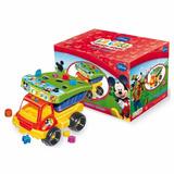 Camion Volcador Didactico Con Encastre Mickey Mouse