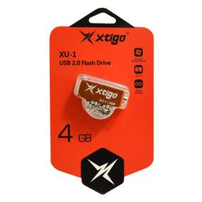 Xtigo Memoria Usb 4gb 2.0 Modelo Xu-1 Pequeña Colores