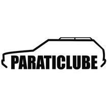 Adesivo Decorativo Parabrisa Carro Club - Parati Clube