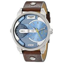Relógio Masculino Diesel Dz7321 Pulseira De Couro
